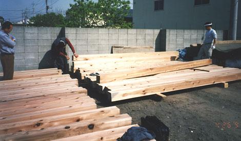 木取り、木配り